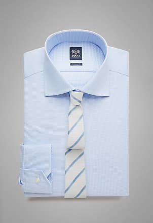 Boggi Milano camicia azzurra collo windsor regular fit