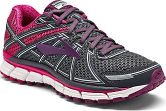 Brooks Womens Defyance 10 Running Shoes, Multicolour (Ebony/Pink/Plum 091), 3 UK