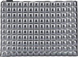 No Ka'Oi Pouch con zip - Di colore grigio