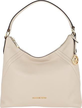Michael Kors Aria LG Shoulder Bag Light Sand
