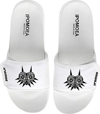 Cosstars The Legend of Zelda Unisex Game Slippers Open Toe Sandals Adjustable Hook and Loop 4 / White 280 MM