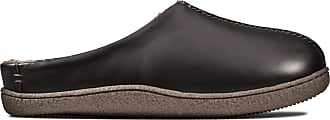 Clarks Mens Relaxed Style Leather Mule Slippers 26143828 6 UK Black