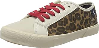 Joules Womens Coast Pump Trainers, Multicolour (Leopard Leopard), 7 (40/41 EU)