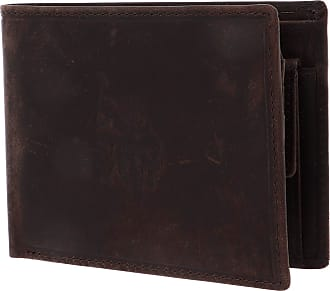 U.S.Polo Association U.S. POLO ASSN. Tulsa Horizontal Wallet Coin with Flap Brown
