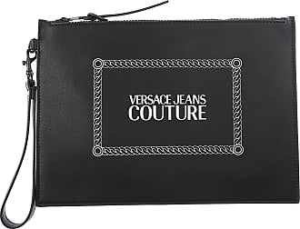 Versace Jeans Couture Pouches, Black, Nylon, 2017, one size