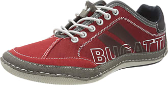 Bugatti Bugatti 321480095400, Mens Low-Top Sneakers, Red, 10.5 UK (45 EU)