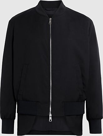Neil Barrett Hybrid Fine Stretch Cotton Bomber Jacket