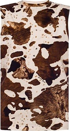 cream Leopard-printed tank top  Golden Goose  Singlet - Dameklær er billig