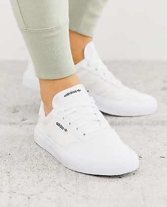 ADIDAS ORIGINALS Sneakers Damen, Weiß Taupe Hellgrau