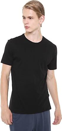 Calvin Klein Underwear Kit 2pçs Camiseta Calvin Klein Underwear Liso Preto