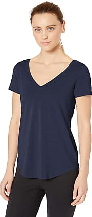 Core 10 Womens Soft Pima Cotton Scoop Neck Yoga Short Sleeve T-Shirt