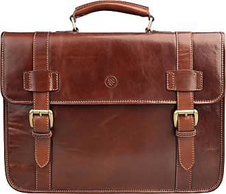Maxwell Scott Maxwell Scott - Luxury Mens Handcrafted Tan Leather Backpack Briefcase