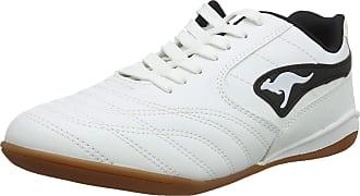 Kangaroos Kangaroos K-yard 3021 B, Mens Low-Top Sneakers, White - Weiß (white/black 005), 9.5 UK (44 EU)