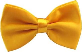 Morenna Pimentta Gravata Borboleta Com Regulador Adulto E Infantil (Infantil, Amarelo)