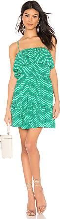 BB Dakota Dot Off The Press Dress in Green