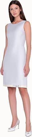 Akris Short Sleeveless Dress in Cotton Silk