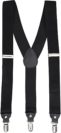 DQT Men Paisley Floral Wedding Elastic Suspenders Braces