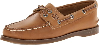 Sperry Top-Sider Sperry Womens A/O 2-Eye Leather Boat Shoes, Sahara, 6 UK