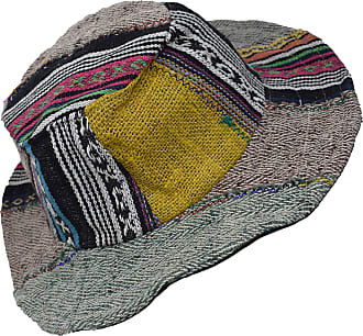 Gheri Hemp Cotton Straw Sun Hat Panama Wide Brim Summer Holiday Colorful Rainbow L