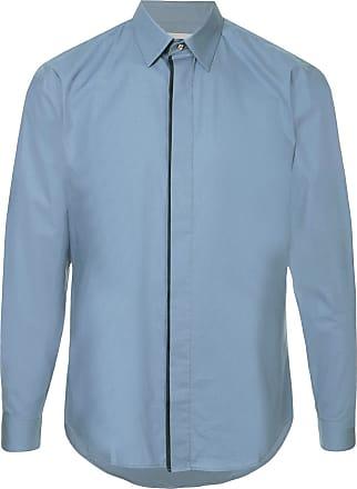 Cerruti classic curved hem shirt - Blue