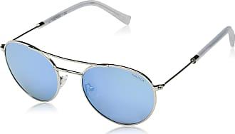 Nautica Óculos Nautica N4633Sp 045 Prata Lente Polarizada Azul Flash Tam 52