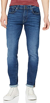 Selected Homme Mens Slhslim-Leon 6212 Mblue Su-st JNS W Noos Jeans, Medium Blue Denim, W 34/ L 32