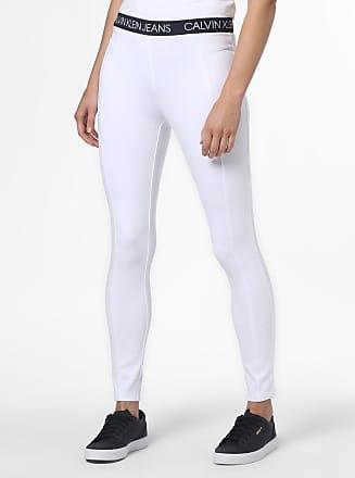 Calvin Klein Jeans Damen Leggings weiss