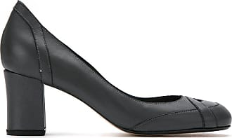 Sarah Chofakian panelled leather pumps - Di colore grigio