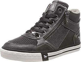 Mustang High Top Sneaker, Baskets Hautes Femme, Gris (Graphit 259), 42 c6c327f64e20