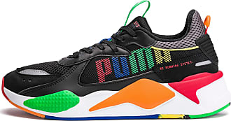 Puma Womens PUMA Rs-X Bold Trainers, Black/Andeantoucan/Orapopsicle, size 7.5, Shoes