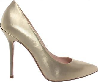 Liu Jo Womens Shoes Heels Milano Marilyn Decolletè Light Gold New