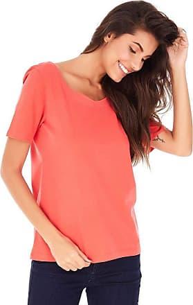 SideWalk Camiseta Trança - Coral - Tamanho P