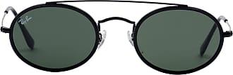 Ray-Ban Óculos de Sol Redondo Preto - Mulher - 52 US