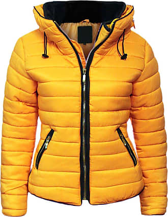 Parsa Fashions Malaika Ladies Quilted Padded Puffer Bubble Fur Collar Warm Thick Womens Jacket Coat - Avaiable in PLUS SIZES (Extra Small to XXL) (XXXXX-Large, Musta