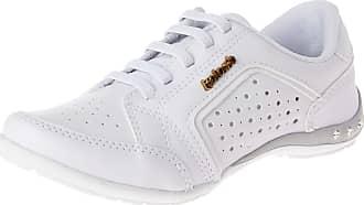Kolosh Tênis Kolosh Feminino Furinhos Strass Branco 36