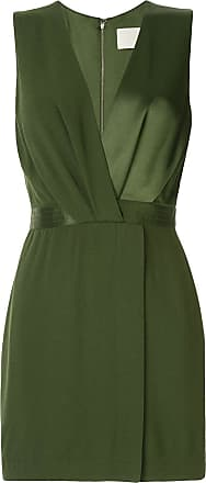 Dion Lee pivot drape mini dress - Green