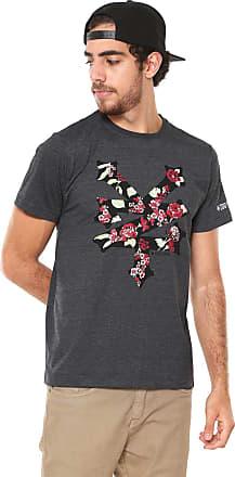 Zoo York Camiseta Zoo York Floral Preta