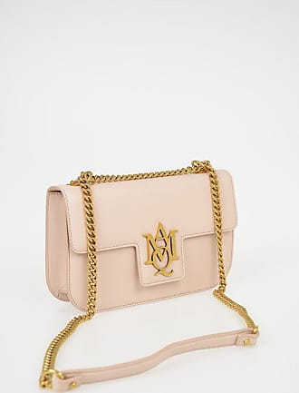 Alexander McQueen Leather INSIGNIA Shoulder Bag size Unica