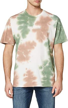 Religion Mens Toxic TEE T-Shirt, Multicolour (TIE DYE 602), Large (Size:L)