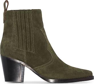 Ganni Ankle boot Western - Verde