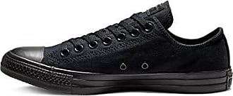 Converse Unisex Chuck Taylor All Star Low Top Black Monochrome Sneakers - 7 D(M) US