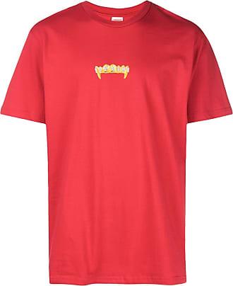SUPREME T-shirt con logo - Di colore rosso