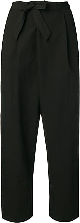 Transit Par-Such belted tapered trousers - Preto