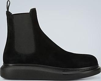 Alexander McQueen Oversize Chelsea Boots Hybrid