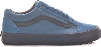 cc6e4797c Vans Zapatillas Vans Azul Marino Tela Suela Negra 35 Marino