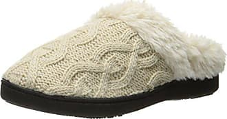 9055b9790 Isotoner Isotoner Womens Cable Knit Bridget Clog Slippers