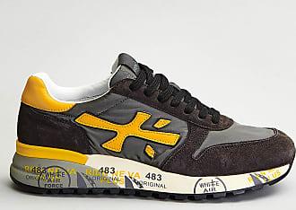 Reposi Calzature PREMIATA Mick - Sneakers antracite giallo