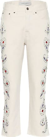 Golden Goose Texas high-rise cropped jeans