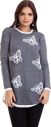 Kinara Suéter Tricot Borboleta-G
