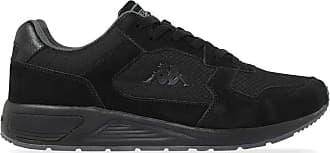Kappa Mens VIPERA Track Shoe, Negro/Gris, 10.5 UK